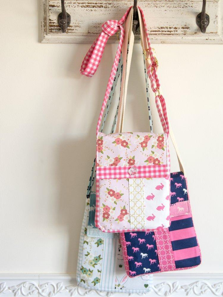 June Bag, Mini Messenger Bag Sewing Pattern | Digital PDF Pattern