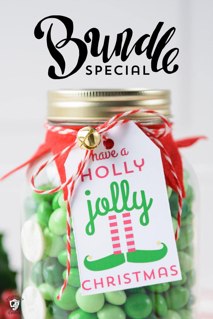 Ultimate Christmas Tag Printable Bundle | Digital Product