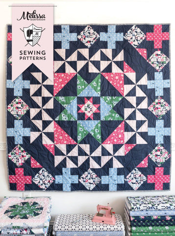 Patchwork Paddock Quilt Pattern PDF