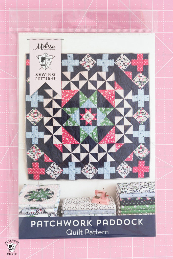 Patchwork Paddock Quilt | Printed Pattern