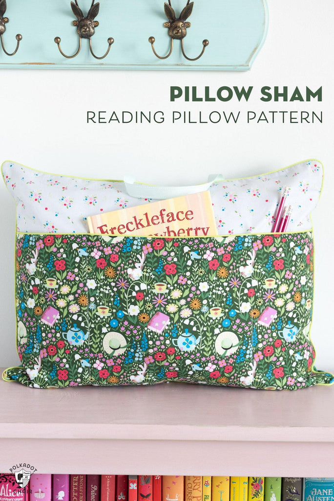 Pillow Pattern Bundle with Reading Pillow Pattern | Digital PDF Pattern