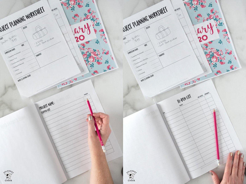 2020 Monthly Project Planner Printable Pages | Digital PDF