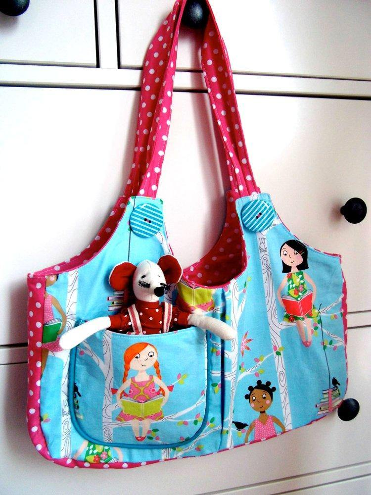 Ruby Lou Child's Bag Sewing Pattern | Digital PDF Pattern