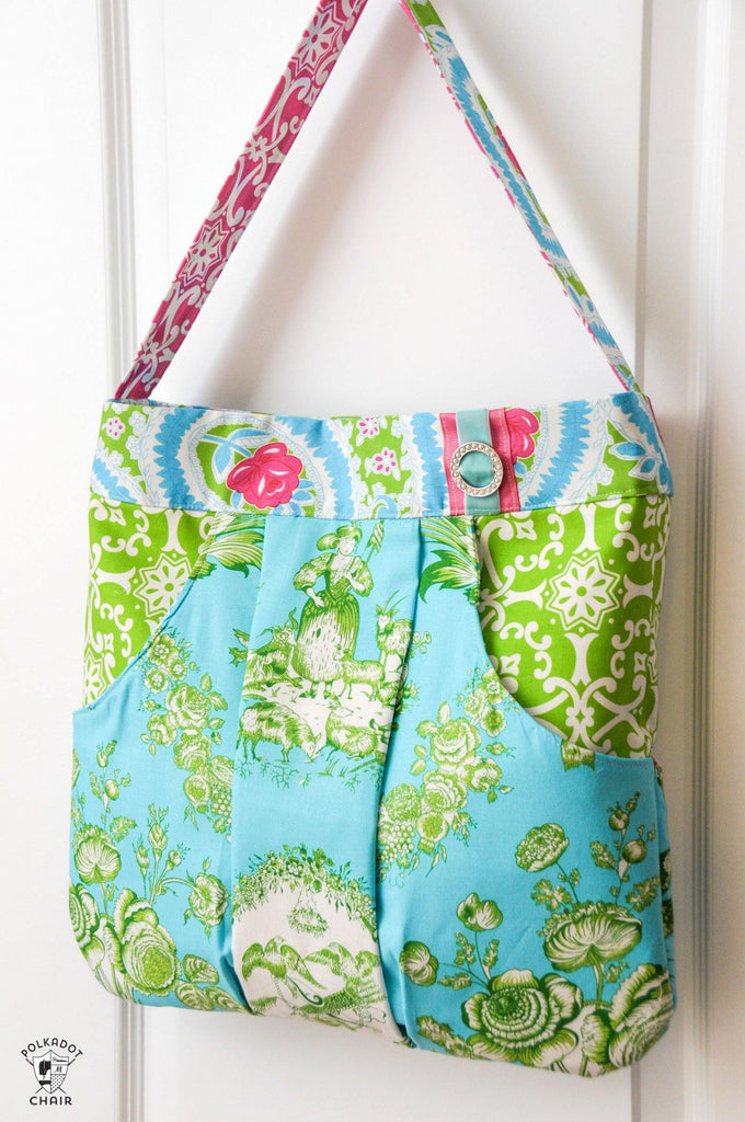 March Bag Sewing Pattern - PDF – Polka Dot Chair