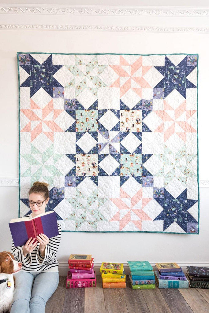 Star Bright Quilt Pattern Digital Pdf Pattern Polka