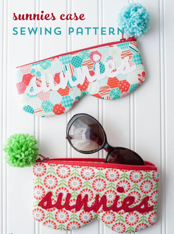 Sunnies Sunglasses Case Bag Sewing Pattern PDF