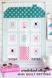 Wonderland Mini Quilts & Doll Quilt PDF Pattern