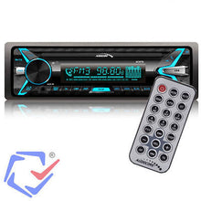 Autoradio Bluetooth Panel Multikleur MP3/WMA/USB/RDS/SD ISO Audiocore AC9710 B
