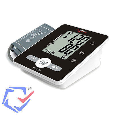PR 9100 Automatic Blood Pressure Monitor Black Blood Pressure Tensiometer Monitor