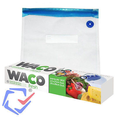 10 Pieces Zip Vacuum Bag Vacuum Pouch