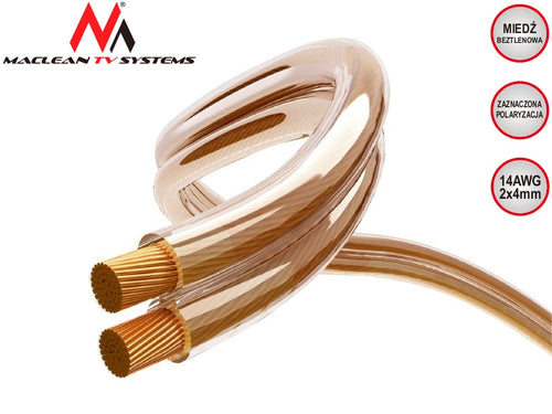 14 2x4 / 16 2x3 AWG Wire Cable Quality OFC Silicone Flexibe Audio Hifi 5m