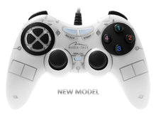 Corsair II White PC Wired Vibration Gamepad Joypad 8-Way D-Pad Anti Slip Keys