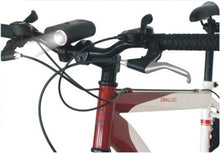 Anti-Theft Reinforced Bicycle Bike U-Lock Secuirty Built in Front Rear Light Set