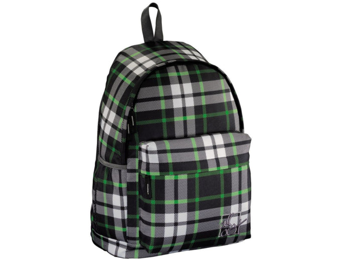School backpack Hama Germany All Out Luton Forest Check