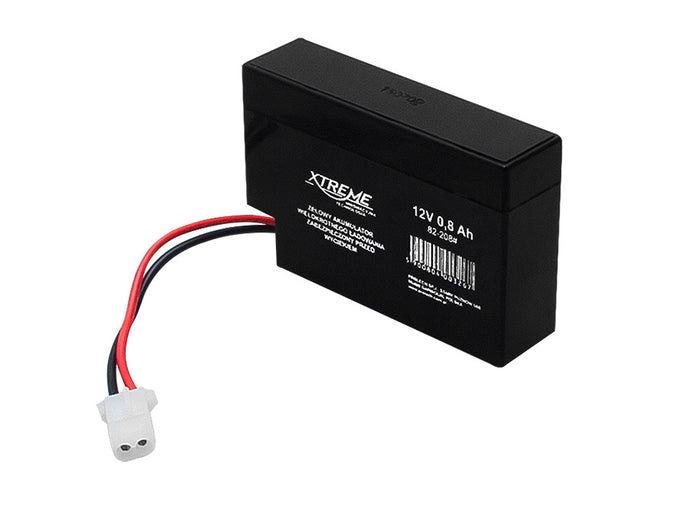 Battery Gel 12V 0.8Ah Xtreme AGM No Toy Maintenance Alarm