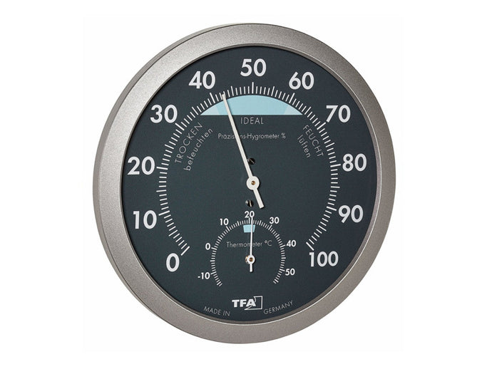Analog Thermo-hygrometer thermometer hygrometer no batteries needed