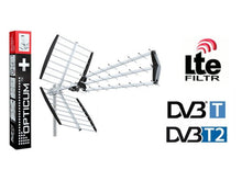 ANTENNA DVB-T MUX8 OPTICUM AX1000 + | KIT voor 3 tv's