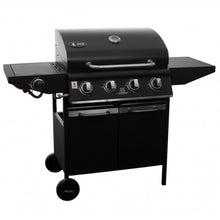 Barbecue Gas Grill 4 Burners Side Burner Steel DAKOTA 12.8 +3.2 kW