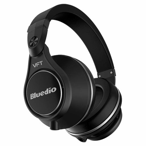 Wireless Bluetooth On-Ear Headphones Black Deep Bass