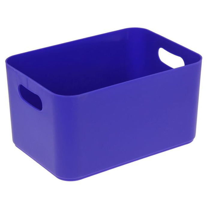 Plastic storage boxes with handles Berossi Unique Style