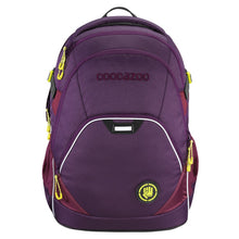 Coocazoo EvverClevver II backpack, color: SOLID Berryman, MatchPatch system
