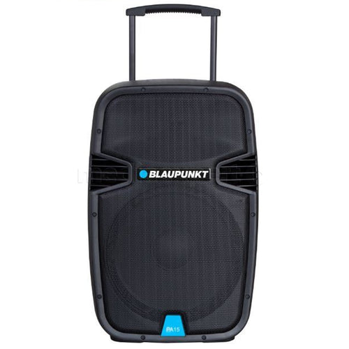 A professional audio system with Bluetooth and the Blaupunkt PA15 karaoke function