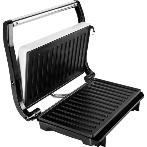 Electric Grill 700W EKG S 1070 Panini Silver Color