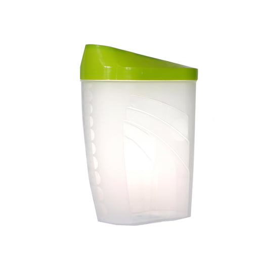 BranQ Easy Way 1L classic container with a dispenser in the lid