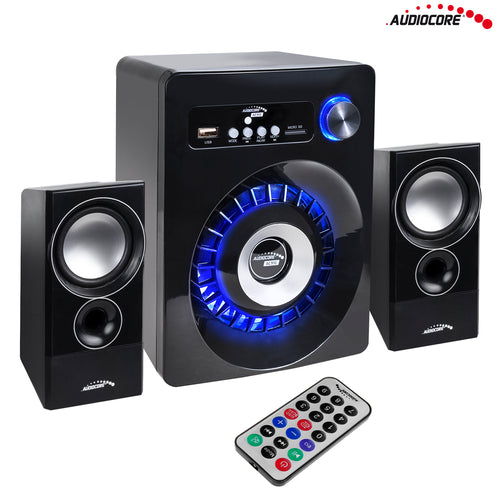 Bluetooth 2.1 Audiocore AC910 loudspeaker FM radio, TF card input, AUX, USB power
