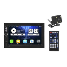 "CAR RADIO 2DIN USB SD Bleutooth DISPLAY 7 ""+ CAMERA"