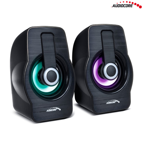 6W USB Black Audiocore AC855 B computer speakers
