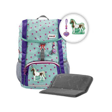 HAMA Step by Step KID backpack by Schleich Horse Club for preschoolers and students