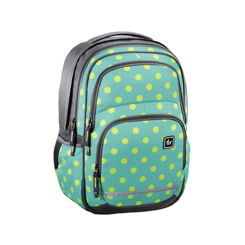 School backpack HAMA All Out BLABY Mint Dots