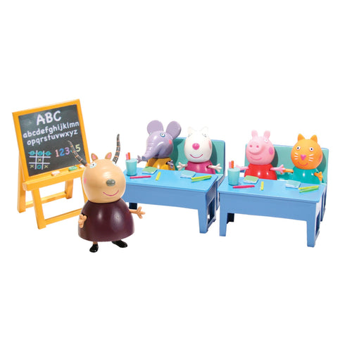 Peppa Pig - School Class with Peppa Pig figuries Adored by all Children
