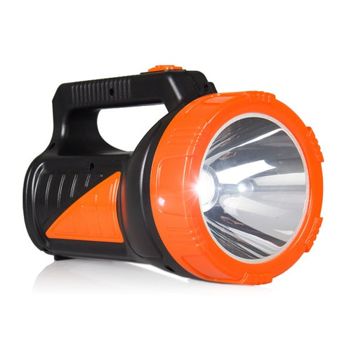 1.6W LED rechargeable torch with 3W Libox LB0167 side light