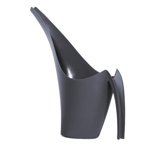 1.5L Giraffe watering can anthracite with a computer shaped neck profile