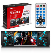 Autoradio met scherm Bluetooth USB / TF / SD Audiocore