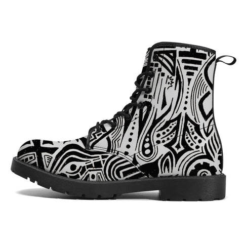 Tribal MWG Leather Boots