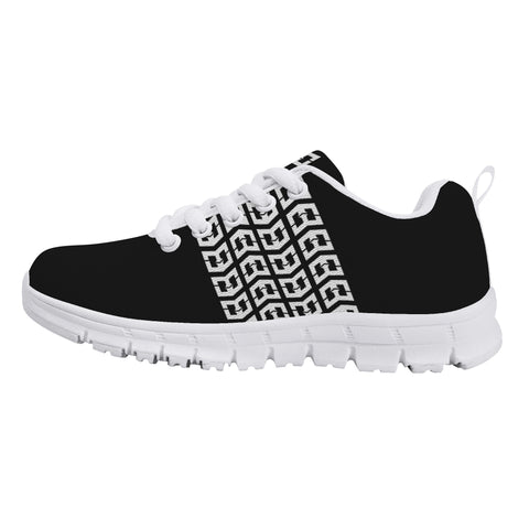 Ninja Warrior Kids Sneakers - Black and White