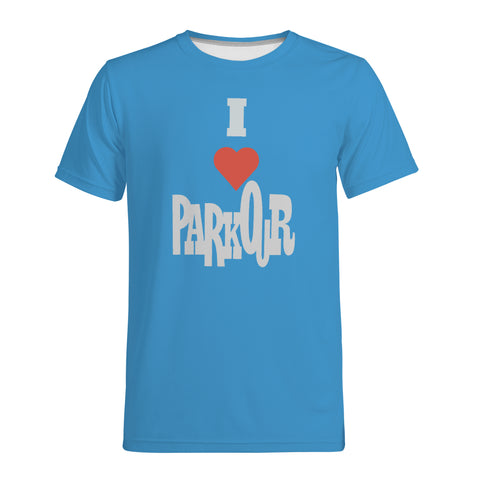 I [heart] Parkour Men's T-Shirt