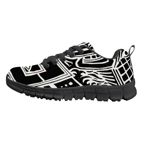 Tribal Kids Sneakers - Black