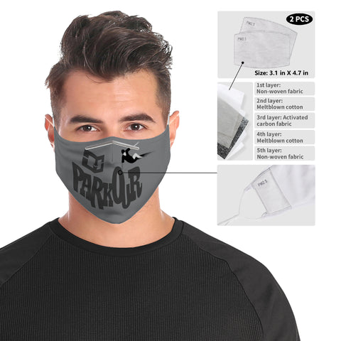 Parkour Cloth Face Mask