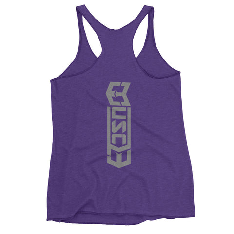 Muscl3 - Women's Racerback tank top - Warrior Life, Ninja Warrior & Parkour Gear