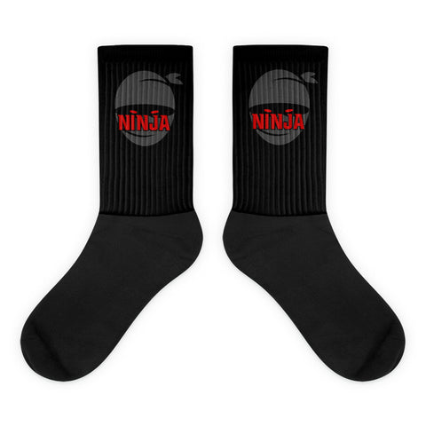 Black Ninja foot socks - Warrior Life, Ninja Warrior & Parkour Gear