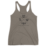Speed. Strength. Spirit. Women's tank top - Warrior Life, Ninja Warrior & Parkour Gear