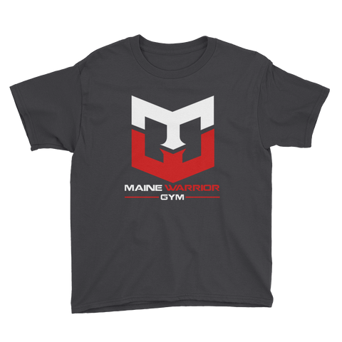 Classic Black MWG Tee - Youth Short Sleeve T-Shirt - Warrior Life, Ninja Warrior & Parkour Gear