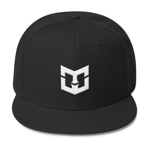 White MWG Logo Emblazened on Wool Blend Snapback various colors - Warrior Life, Ninja Warrior & Parkour Gear