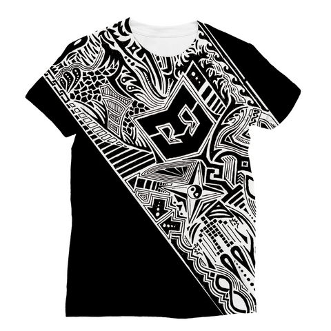 Tribal Warrior Full Wrap Unisex Tee