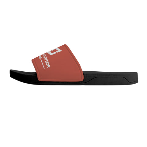MWG Slide Sandals - Black & Red