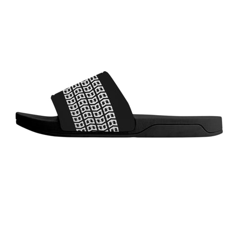 Warrior Slide-on Sandals - Black
